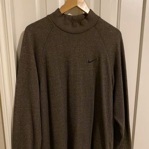 Long Nike mock turtleneck tunic